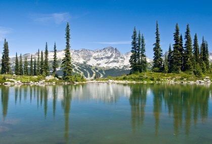 Harmony Lake, Whistler, British Columbia, Canada