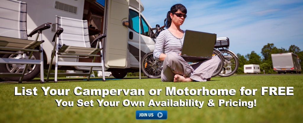 Earn Extra Money from your Campervan or Motorhome