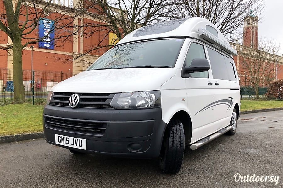 VW T5 Campervan Hire Manchester.