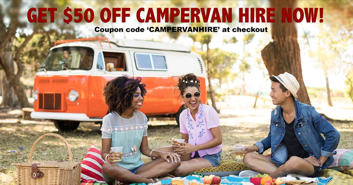 campervan hire discount code voucher 2020