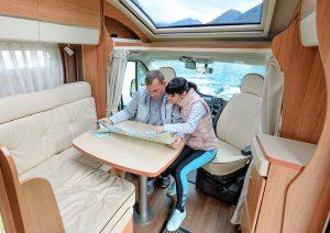 Luxury motorhome hire