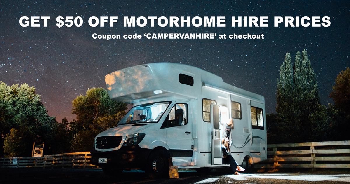 Motorhome hire discount code