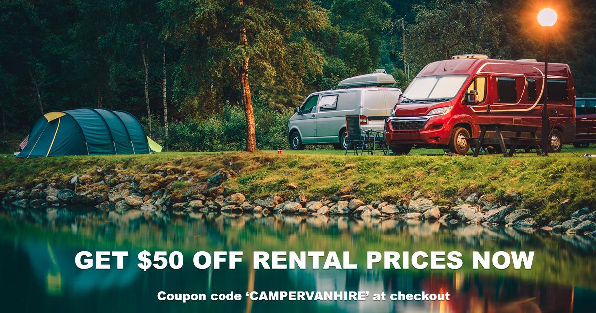 campervan hire discount code voucher