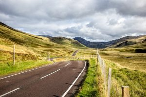 North Coast 500 Road in Scotland